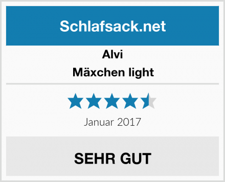 Alvi Mäxchen light Test