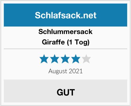 Schlummersack Giraffe (1 Tog) Test