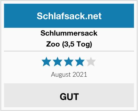Schlummersack Zoo (3,5 Tog) Test