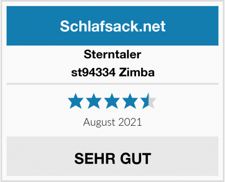 Sterntaler st94334 Zimba Test