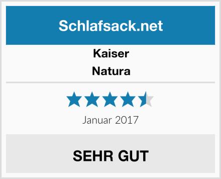 Kaiser Natura Test