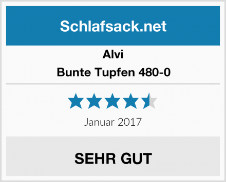 Alvi Bunte Tupfen 480-0 Test