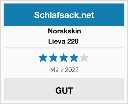 Norskskin Lieva 220  Test