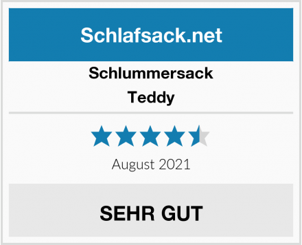 Schlummersack Teddy Test