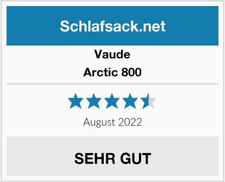 Vaude Arctic 800 Test