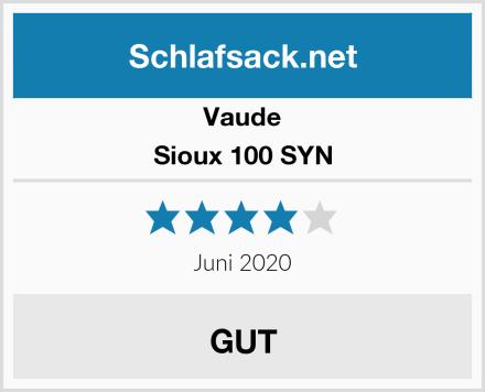Vaude Sioux 100 SYN Test