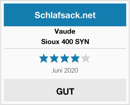 Vaude Sioux 400 SYN Test