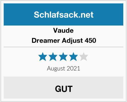 Vaude Dreamer Adjust 450 Test