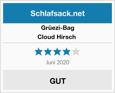 Grüezi-Bag Cloud Hirsch  Test
