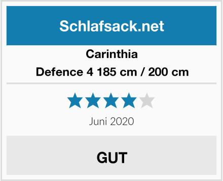 Carinthia Defence 4 185 cm / 200 cm Test