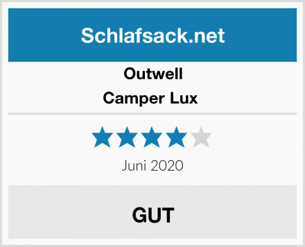 Outwell Camper Lux  Test