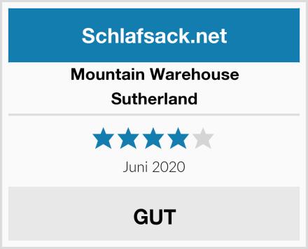 Mountain Warehouse Sutherland Test