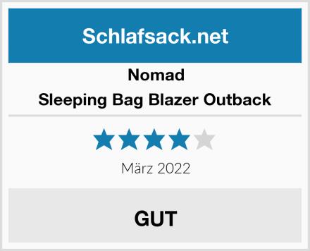 Nomad Sleeping Bag Blazer Outback Test