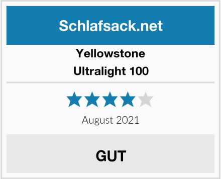 Yellowstone Ultralight 100 Test