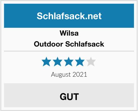 Wilsa Outdoor Schlafsack Test