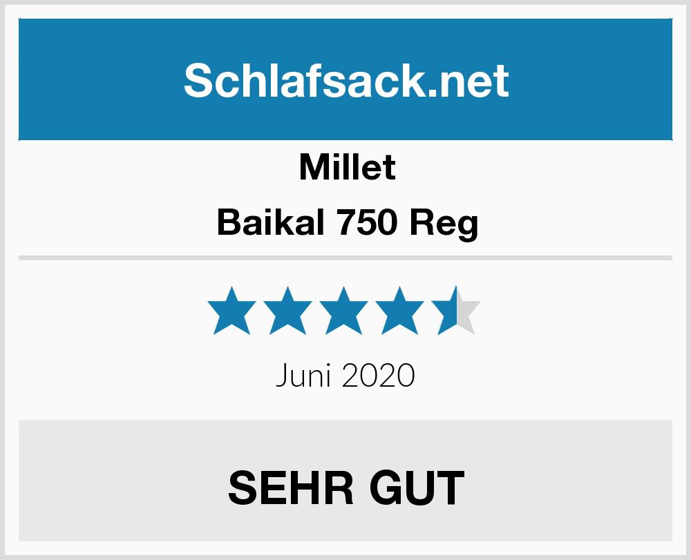 MILLET Trekking-Schlafsack Baikal 750 Reg