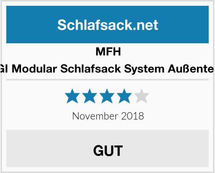 MFH GI Modular Schlafsack System Außenteil Test