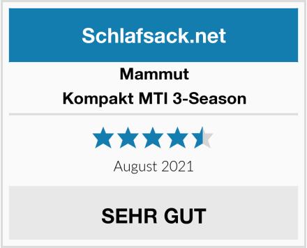 Mammut Kompakt MTI 3-Season Test