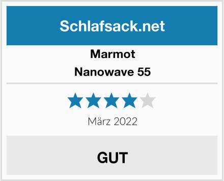 Marmot Nanowave 55 Test