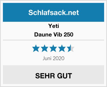 Yeti Daune Vib 250 Test
