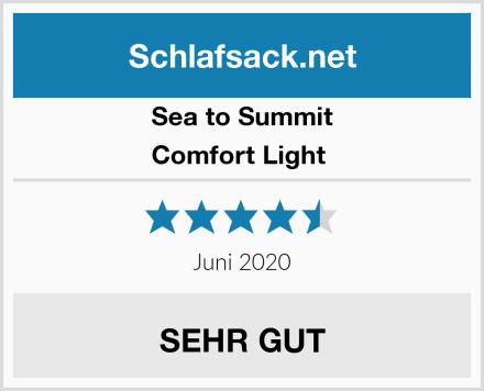 Sea to Summit Comfort Light  Test