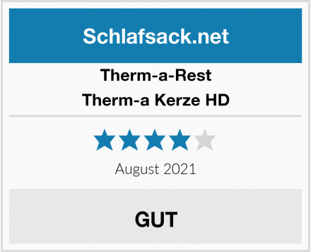 Therm-a-Rest Therm-a Kerze HD Test
