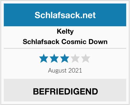 Kelty Schlafsack Cosmic Down Test
