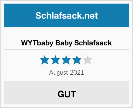 No Name WYTbaby Baby Schlafsack Test
