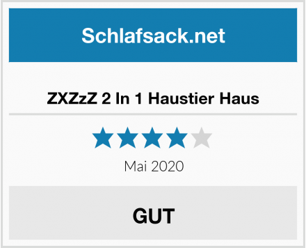 No Name ZXZzZ 2 In 1 Haustier Haus Test