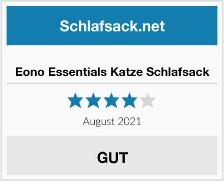 No Name Eono Essentials Katze Schlafsack Test