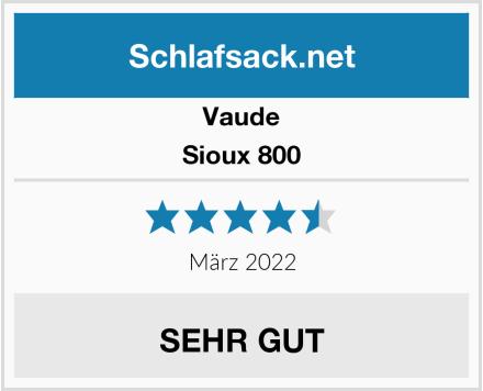 Vaude Sioux 800 Test