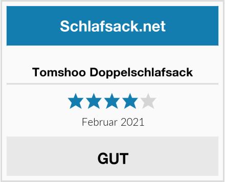 Tomshoo Doppelschlafsack Test