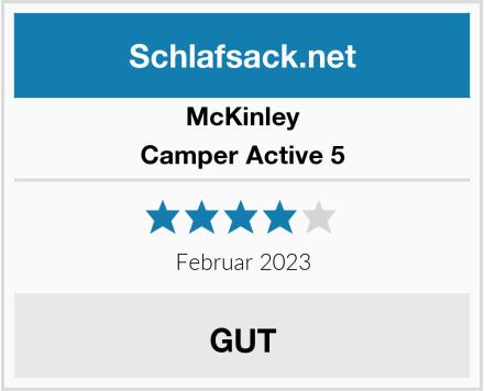McKINLEY Camper Active 5 Test
