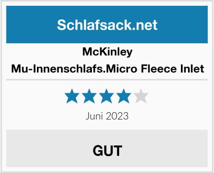 McKINLEY Mu-Innenschlafs.Micro Fleece Inlet Test
