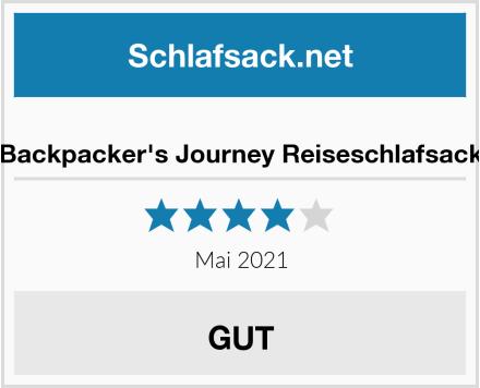 Backpacker's Journey Reiseschlafsack Test