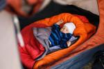 Die Daunenpflege bei Schlafsäcken
