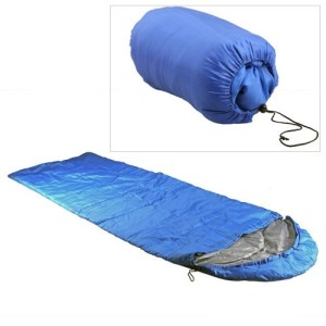 Den Schlafsack packen
