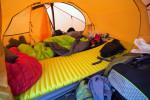 Was tun, wenn der Schlafsack nass geworden ist?